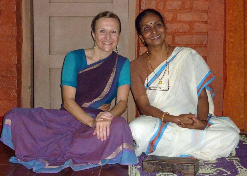 Mentorin und Lehrmeisterin indischen Tanzes