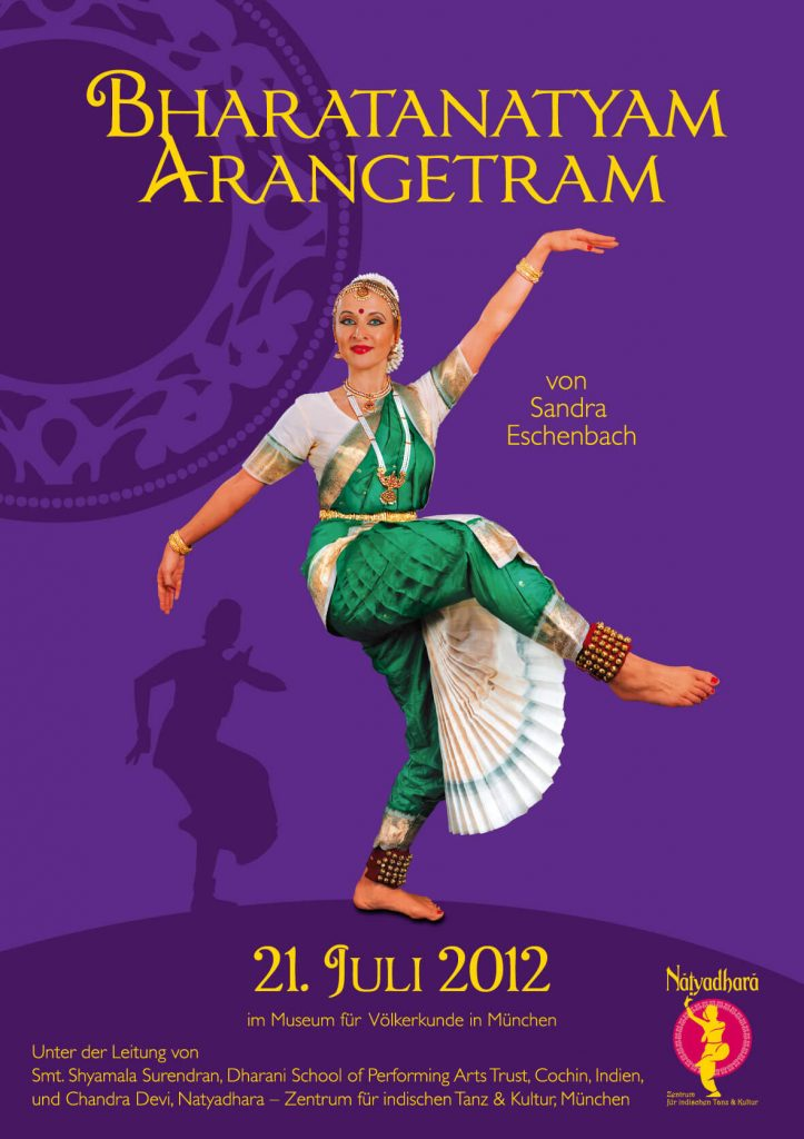 Bharatanatyam Arangetram Auftritt Akhila