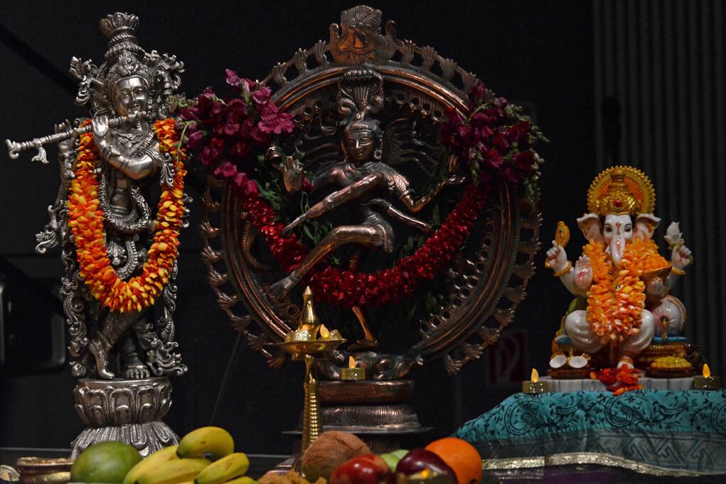 Indische Götterstatuen
